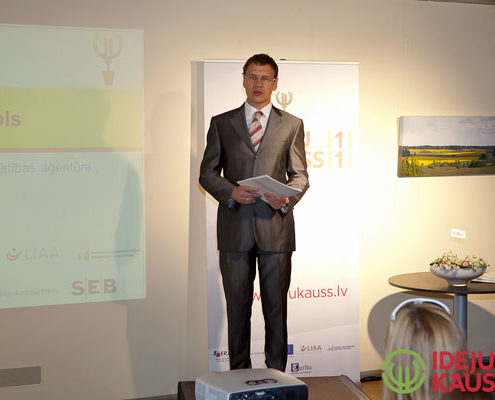 """Andrejsalā atklāj konkursu """"Ideju kauss 2011"""""""