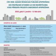 Sākas Rīgas teritorijas plānojuma līdz 2030.gadam redakcijas publiskā apspriešana un SIVN vides pārskata projekta sabiedriskā apspriešana