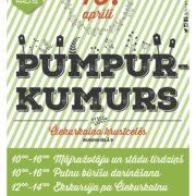"""15. aprīlī no pulksten 10.00 – 16.00 notiks jau četrpadsmitais pasākums Čiekurkalna apkaimes iedzīvotājiem un viesiem, kuram šoreiz dots nosaukums """"Pumpurkumurs"""""""