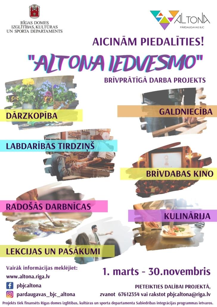 Altona iedvesmo plakāts