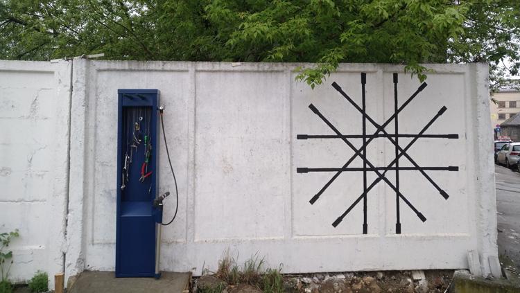 21. maijā Puškina ielā 11a tiks atklāta jauna publiska velo pašapkopes stacija.