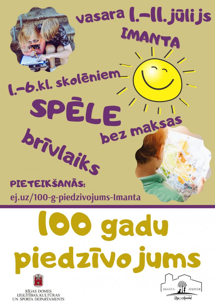 100 gadu piedzivojums plakats