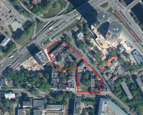 Lokālplānojumu teritorijai starp Kr. Valdemāra, Daugavgrīvas un Kalnciema ielu